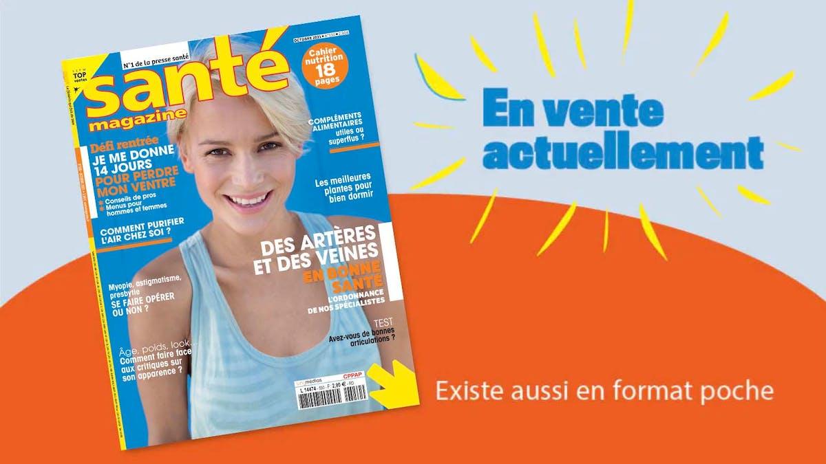 Santé magazine octobre 2021