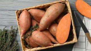 La patate douce, un bon féculent !
