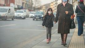 En France, plus de trois enfants sur quatre respirent un air pollué