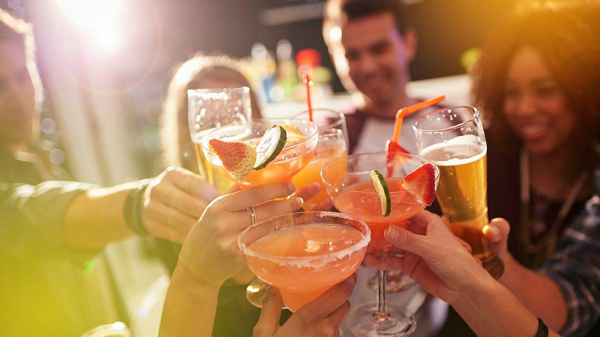 Tableau des calories des boissons alcoolisées