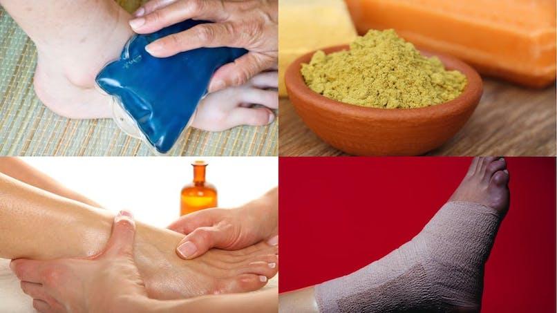4 solutions naturelles pour soulager une entorse