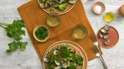 Coques aux brocolis