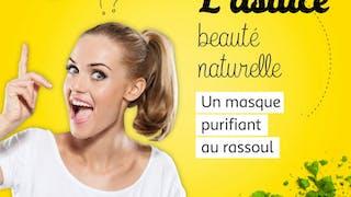 Masque au rassoul pour purifier sa peau – DIY vidéo