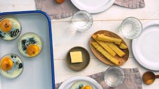 Recette des œufs cocotte aux épinards en vidéo