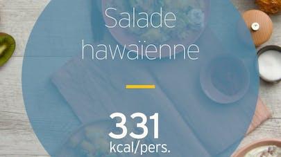 Salade hawaïenne