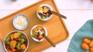 Recette du yaourt aux fruits frais en vidéo