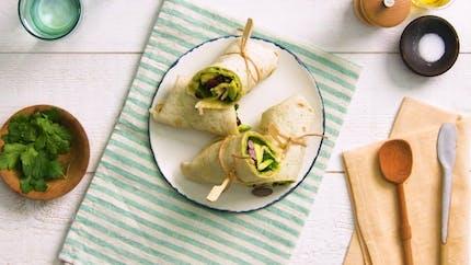 Wrap thon et haricots rouges