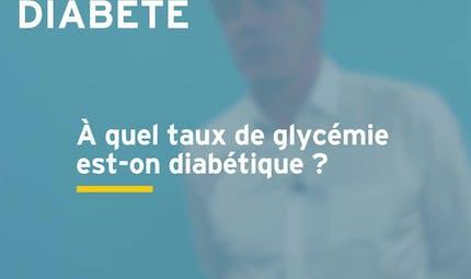 Taux de glycémie : comment savoir si l'on est diabétique ? Réponse en vidéo