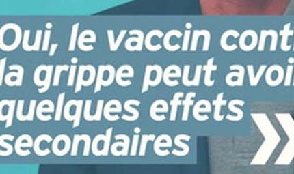 Le vaccin contre la grippe a-t-il des effets secondaires ? Réponse en vidéo