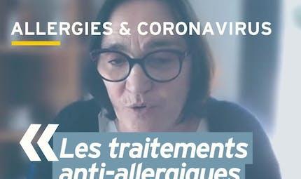 Face au coronavirus, faut-il stopper son traitement contre l'allergie ? Réponse en vidéo