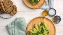 Recette de cannellonis froids aux épinards et au chèvre en vidéo