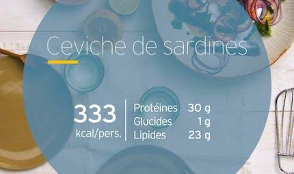 Ceviche de sardine