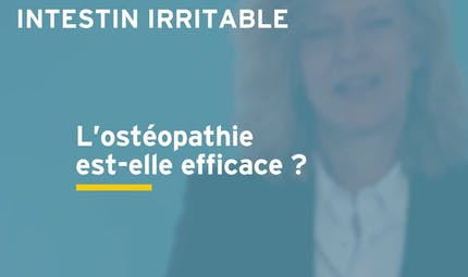 Côlon irritable : l'ostéopathie est-elle efficace pour traiter les douleurs ? Réponse en vidéo