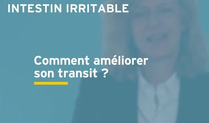 Syndrome de l'intestin irritable : comment améliorer son transit ? Réponse en vidéo