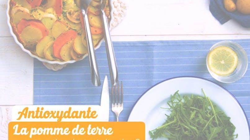 Recette du gratin de pommes de terre avec du potiron et des poireaux en vidéo