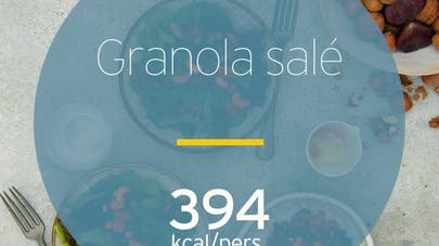 Granola salé