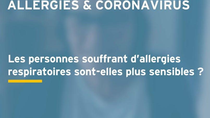 Les personnes allergiques sont-elles plus sujettes au coronavirus ? Réponse en vidéo