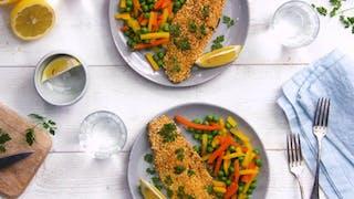 Recette de la truite panée au quinoa en vidéo